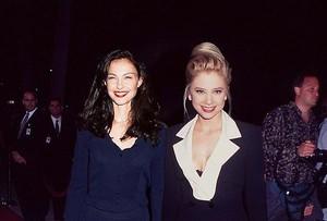Ashley Judd and Mira Sorvino