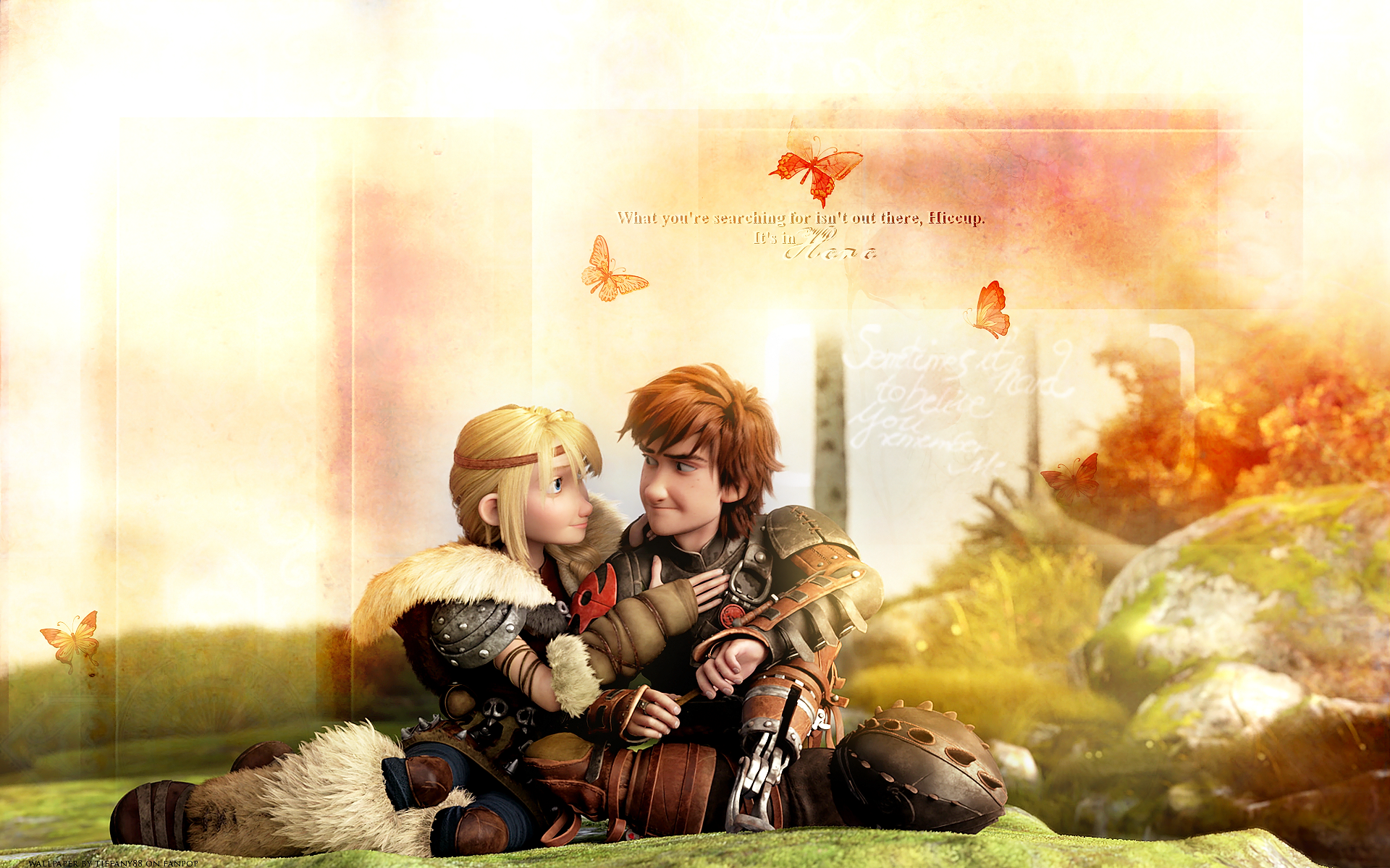 How to Train Your Dragon images Astrid and Hiccup - HQ wallpaper HD ...