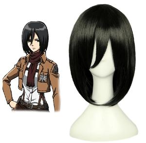 Attack on Titan Mikasa Ackerman cosplay wig