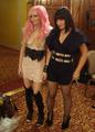 Audrey Kitching and Jessicka Addams