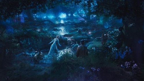 Maleficent (2014) images Aurora and Maleficent in The Moors ...