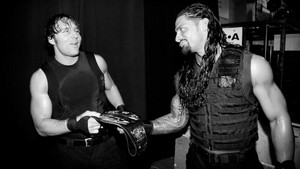 Backstage with The Shield