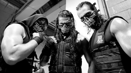 The Shield (WWE) wallpaper titled Backstage with The Shield