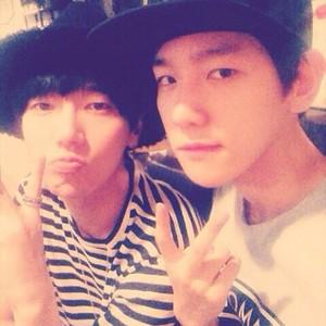 Baekhyun 140529 Instagram Update: 백성!😎