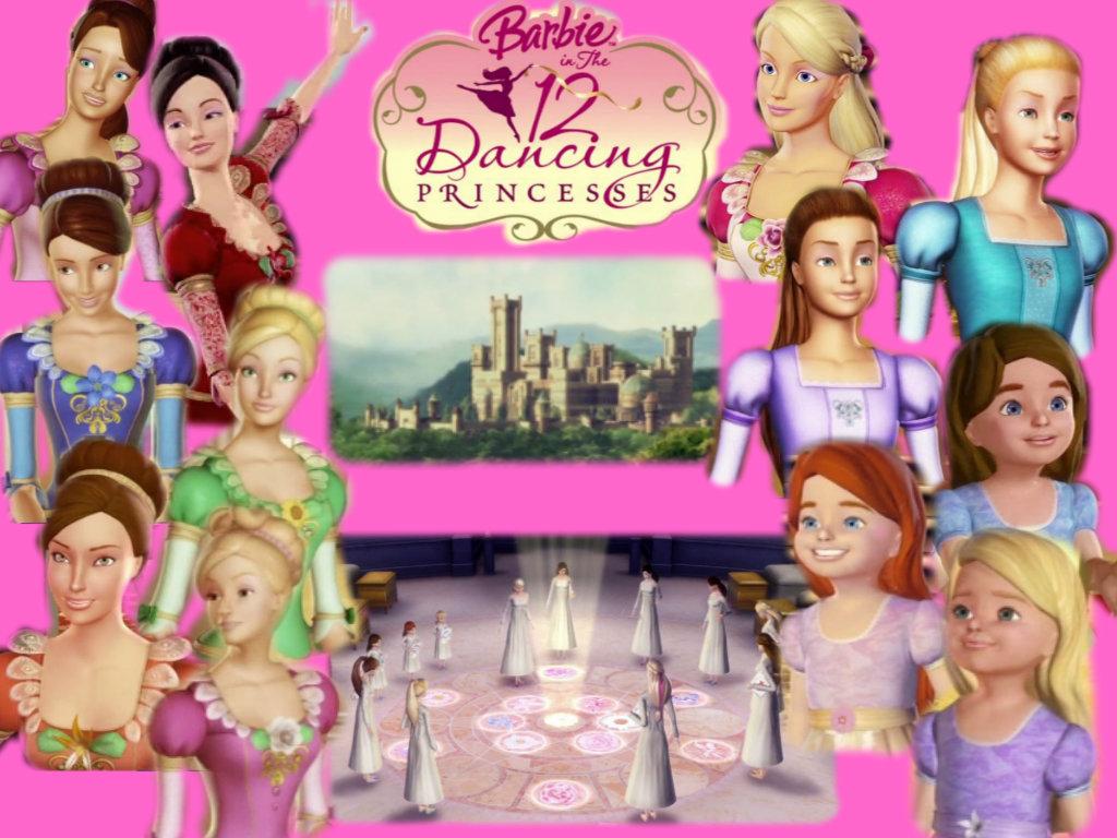 barbie 12 principessa danzanti