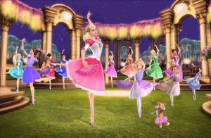 Barbie dalam 12 Dancing Princess