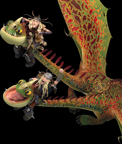 How to train your dragon images barf and belch and ruffnut and how to train your dragon wallpaper possibly containing a triceratops and an octopus entitled barf and ccuart Images