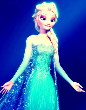 Beautiful reyna Elsa