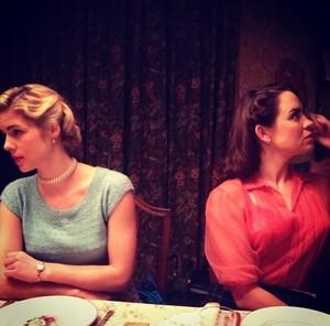 Behind the scenes of Emily shooting Brooklyn!