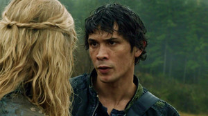 Bellamy looking at Clarke part 2