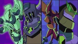 Ben 10 Galactic Monsters