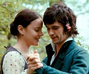 Ben as John Keats in Bright ngôi sao