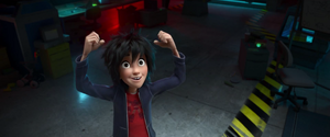 Big Hero 6 Teaser Trailer Screencap - Hiro Hamada