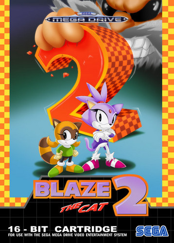 Sonic the Hedgehog wallpaper with Anime entitled Blaze the Cat 2