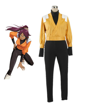 Bleach Yoruichi cosplay costume