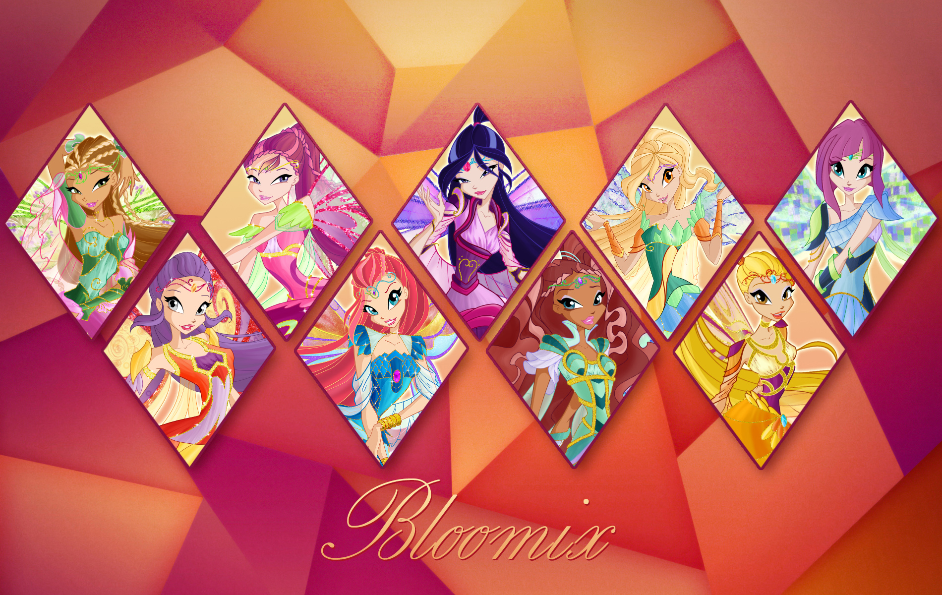The Winx Club Images Bloomix Fairies HD Wallpaper And