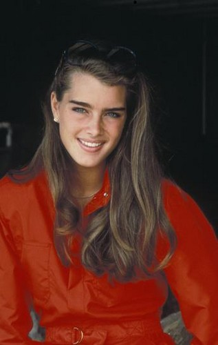 Brooke Shields wallpaper probably containing a portrait called Brooke Shields
