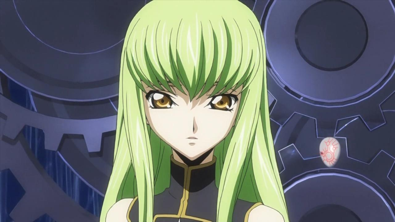 Anime Manga Witches Images C C Code Geass Hd