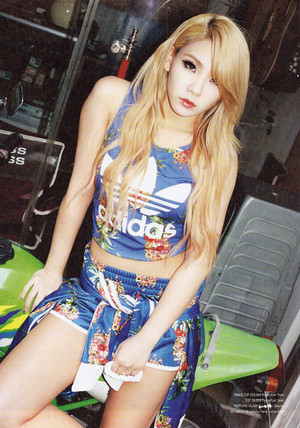 CL for Adidas x Maps