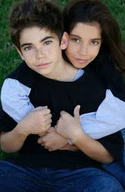 Cameron Boyce and his sister Maya Boyce