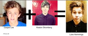 Casper Lee Keaton Stormberg= Luke Hemmings