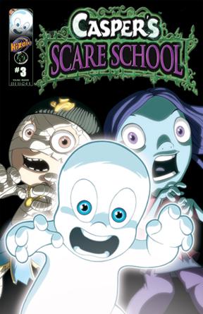 Casper's Scare School Issue 3
