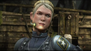 Cassie Cage (Sonya's daughter with Johnny Cage) MK 10