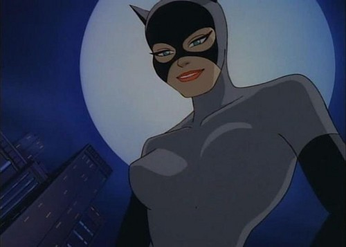 Childhood Animated Movie Villains karatasi la kupamba ukuta entitled CatWoman (BatMan: the Animated Series)