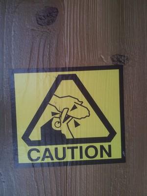 Caution! Penguins