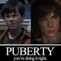 Chandler/Carl... Lol :D - chandler-riggs fan art