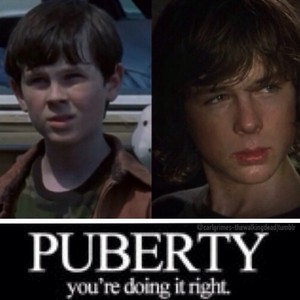 Carl Grimes... Lol :D