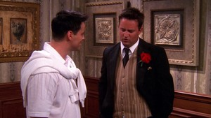 Chandler and Joey