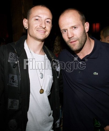 Chester Bennington hình nền called Chester with Jason