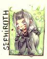 Chibi Sephiroth - sephiroth fan art