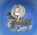 Chibi Sephiroth!!!!! - sephiroth fan art