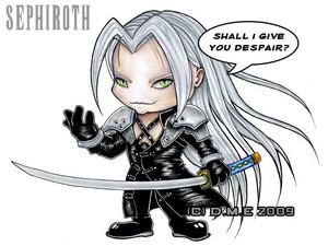 chibi Sephiroth!!!!!