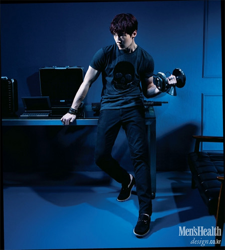Choi Jin Hyuk achtergrond possibly with a halter called Choi Jin Hyuk Covers Men's Health's June 2014 Issue
