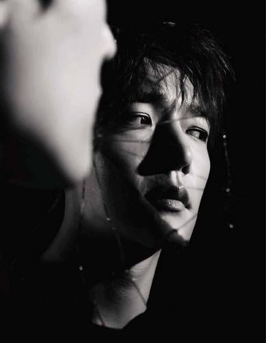 Choi Jin Hyuk achtergrond entitled Choi Jin Hyuk for 'ELLE Korea'