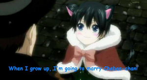 Ciel is a cute kitten ♥