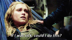 Clarke and Octavia [humor]
