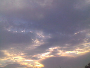 Clouds in Islammabad