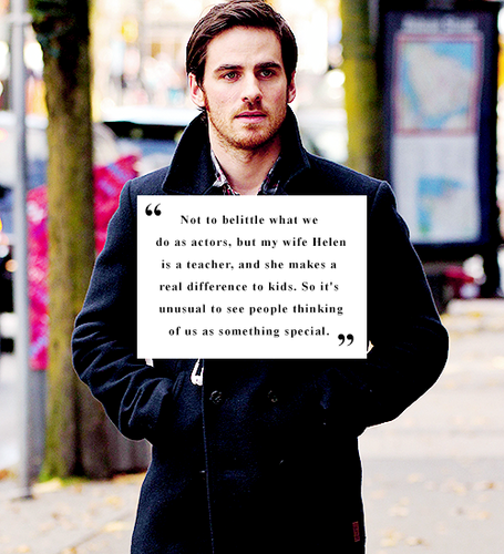 Colin O'Donoghue kertas dinding containing a business suit titled Colin O'Donoghue ღ Quote