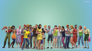 Computer wallpaper/The Sims4