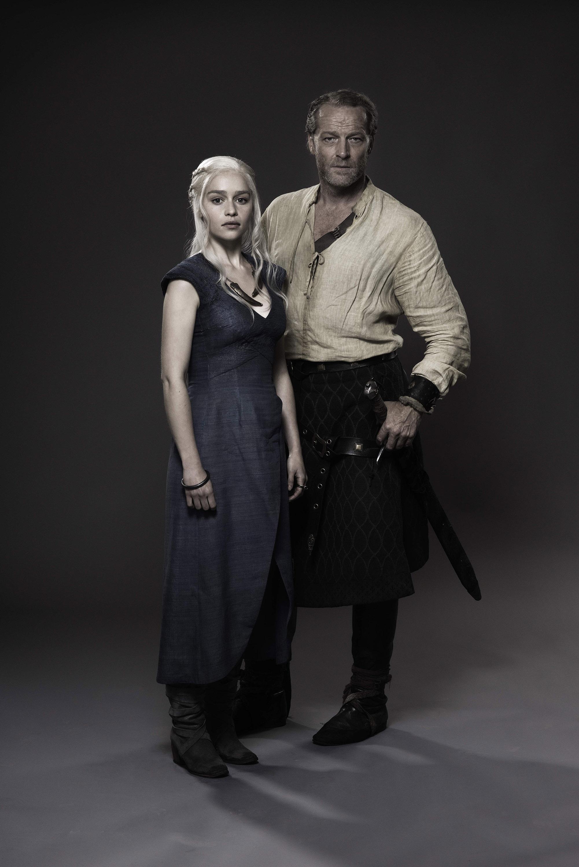 Daenerys Targaryen & Jorah Mormont - Promo litrato