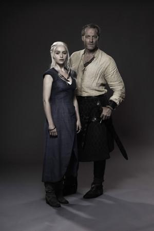 Daenerys Targaryen & Jorah Mormont - Promo foto