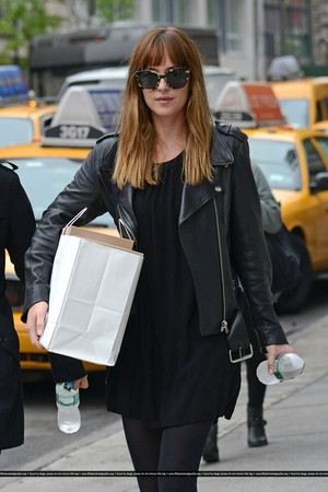 Dakota out in NYC (May 9th, 2014)