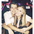 Damian and his girlfriend in New York