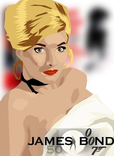 James Bond वॉलपेपर entitled Bond Girl, Daniela Bianchi