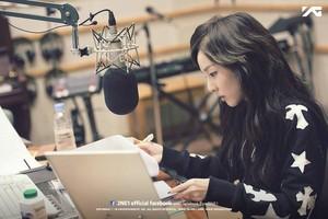Dara @ KBS Yoo In Na's Turn Up The Volume!