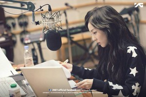 Dara @ KBS Yoo In Na's Turn Up The Volume!